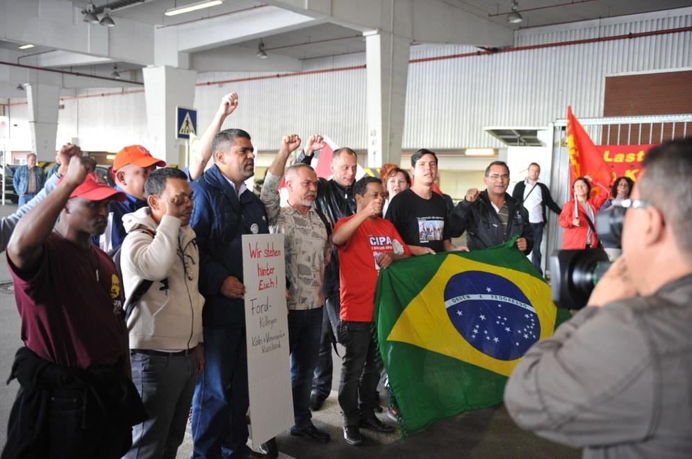 Internationale Solidaritätserklärungen an die Betriebsversammlung der Opelaner in Bochum