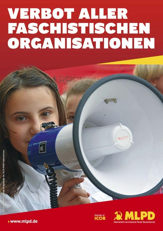 """Die Partei """"Die Rechte"""" - legales Sammelbecken verbotener faschistischer Organisationen - sofort verbieten!"""