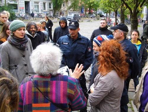 Lampedusa-Flüchtlinge: Menschenjagd in Hamburg geht weiter