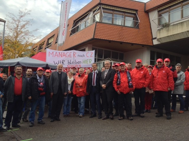 Unbefristeter Streik bei Norgren in Großbettlingen