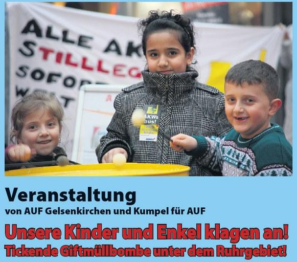 """Gelsenkirchen: """"Unsere Kinder und Enkel klagen an"""""""