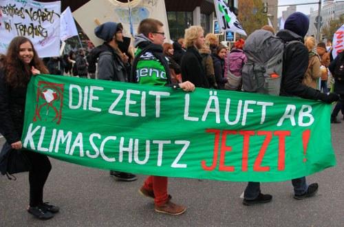 Eine neue kämpferische Umweltbewegung prägt zunehmend den internationalen Weltklimatag