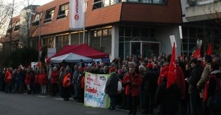 Wie weiter im Kampf um jeden Arbeitsplatz bei Norgren in Großbettlingen?