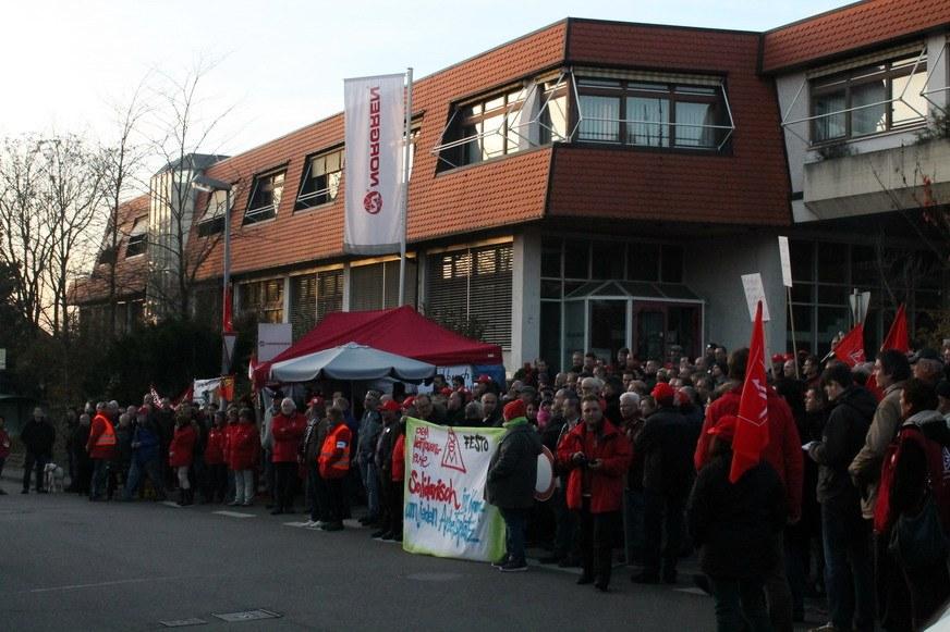 Über acht Wochen Streik bei Norgren - Belegschaft steht vor Entscheidung