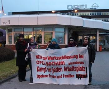 """Opel Bochum: """"Nicht unser Kampf ist am Ende, sondern die 'friedlichen Verhandlungen'!"""""""