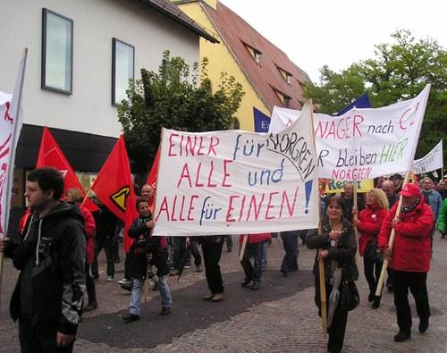 Norgren-Streik mit Stolz beendet - trotz Niederlage im Kampf um die Arbeitsplätze