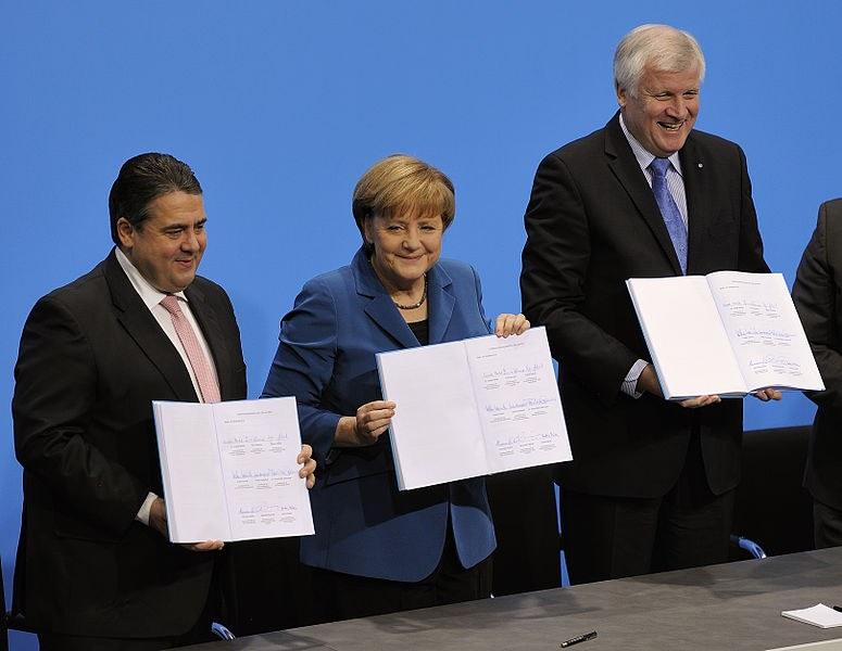 """Die """"schwere Last"""" der Bundeskanzlerin im neuen Jahr 2014"""