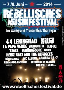 Rebellisches Musikfestival am 7./8. Juni