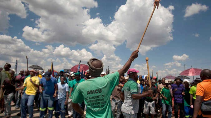 Streik in Südafrika legt Welt-Platinproduktion lahm
