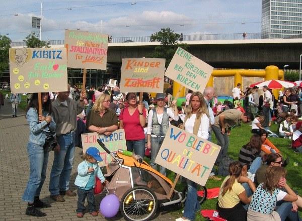 ver.di kritisiert Kita-Politik der Landesregierung NRW