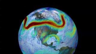 Jetstreams spielen verrückt - Folge des ungebremsten CO2-Ausstoßes