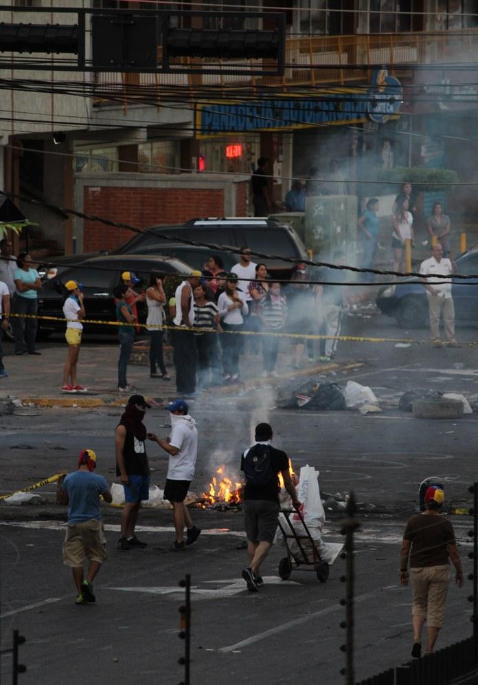 Landesweite Auseinandersetzungen in Venezuela verschärfen sich