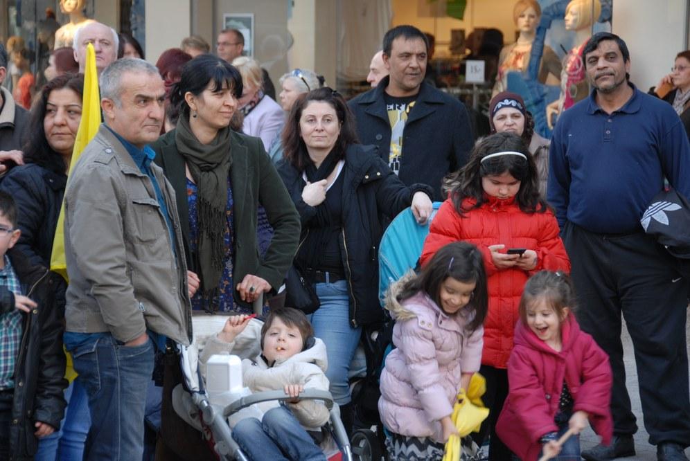 """Fukushima-Aktion in Wuppertal: """"Einer meiner Gründe, hier zu sein, steht neben mir"""""""