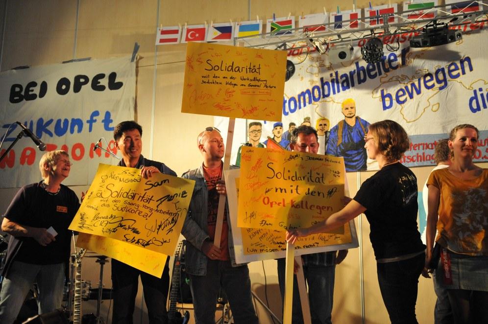 Sindelfinger Schulamtsleiter verweigert Internationaler Automobilarbeiterkonferenz weiter Räumlichkeiten