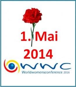 """""""Tragt Frauenpower in die Aktivitäten zum 1. Mai 2014!"""""""