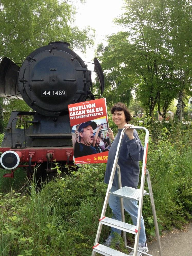 Wahkampfsplitter: Lokomotiven für Heilbronn