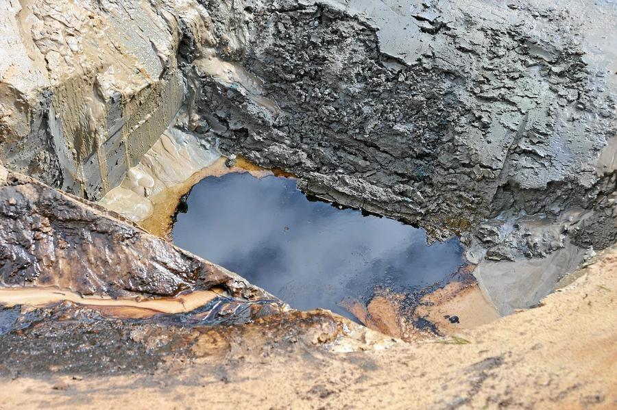 Das Gift, das aus der Tiefe kam - die Ölpest im Münsterland