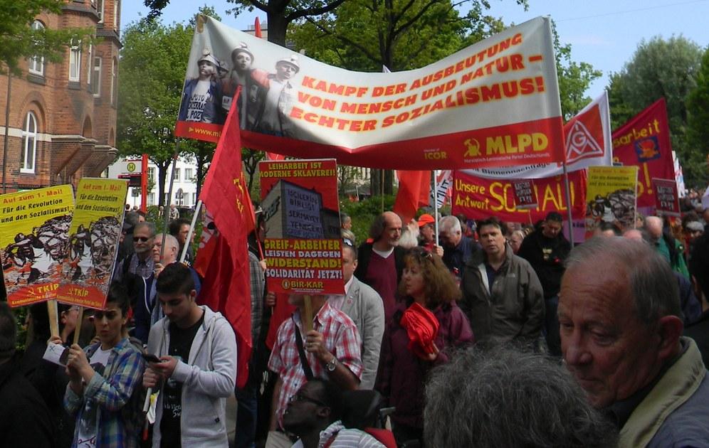 Es lebe der 1. Mai - der internationale Kampftag der Arbeiterklasse
