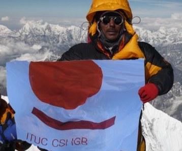 Gewerkschaftsführer und Umweltschützer unter Todesopfern am Mount Everest