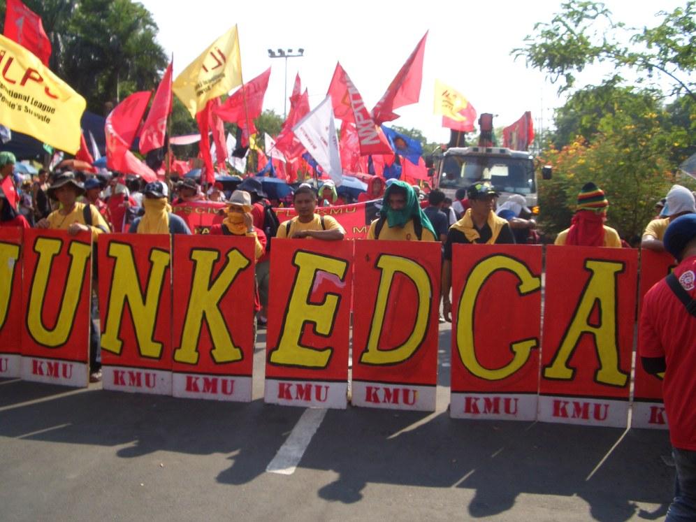 Kämpferischer 1. Mai auf den Philippinen
