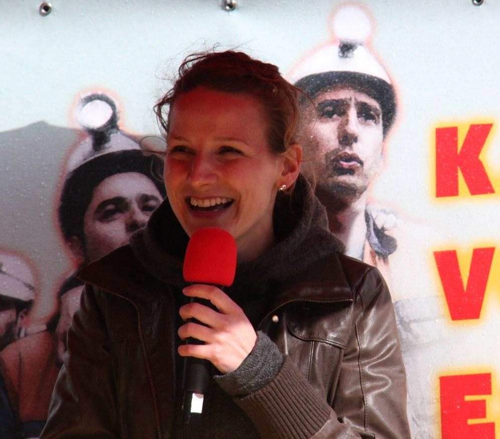 Europawahlkampf: ZDF bei Lisa Gärtner