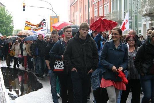 Erfolgreicher antifaschistischer Protest am 8. Mai in Demmin