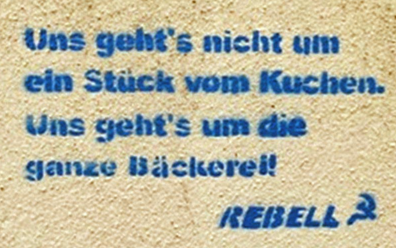 "1.000 Euro Kopfgeld für ""REBELL-Graffiti"""