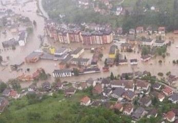 Flutkatastrophe auf dem Balkan