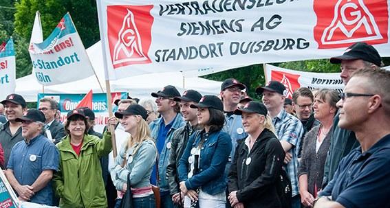 Große Beteiligung am Siemens-Aktionstag
