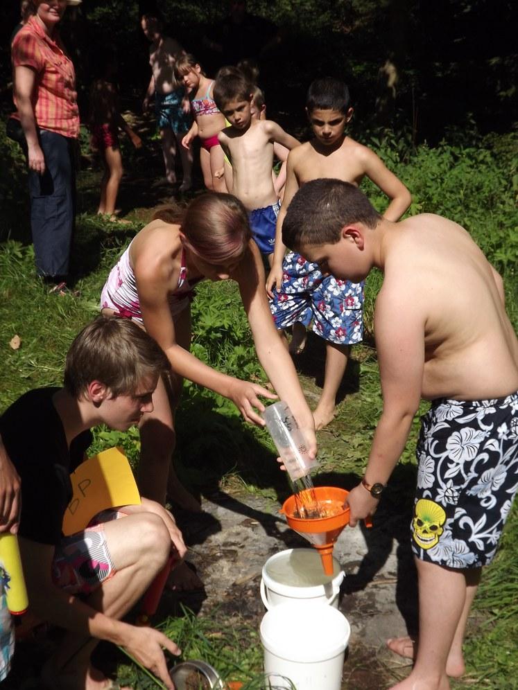 Mach mit beim Abenteuer Kindercamp!