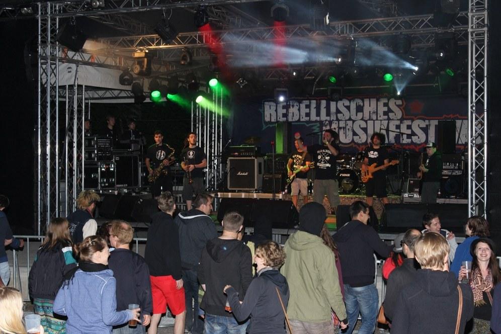 Rebellisches Musikfestival: Über 750 Festivalgäste schon begeistert