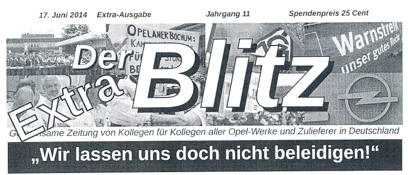 """Opel Bochum: """"Holen wir uns unsere Ehre zurück"""""""