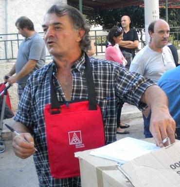 """""""Er war die Seele und das Herz der kämpfende Stahlarbeiter"""" -  Nachruf auf Dimitrios Liakos"""