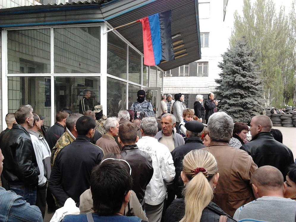 """""""Ein Teil der bewaffneten Gruppen im Osten der Ukraine besteht aus Arbeitern ..."""""""