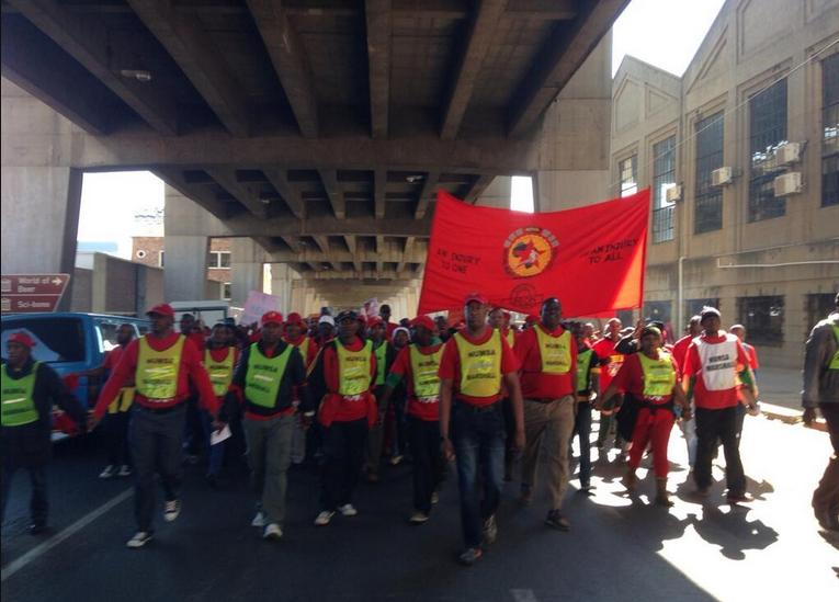 220.000 Metallarbeiter Südafrikas im Streik