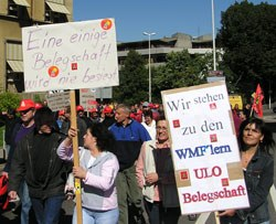 MLPD Baden-Württemberg solidarisch mit WMF-Belegschaft