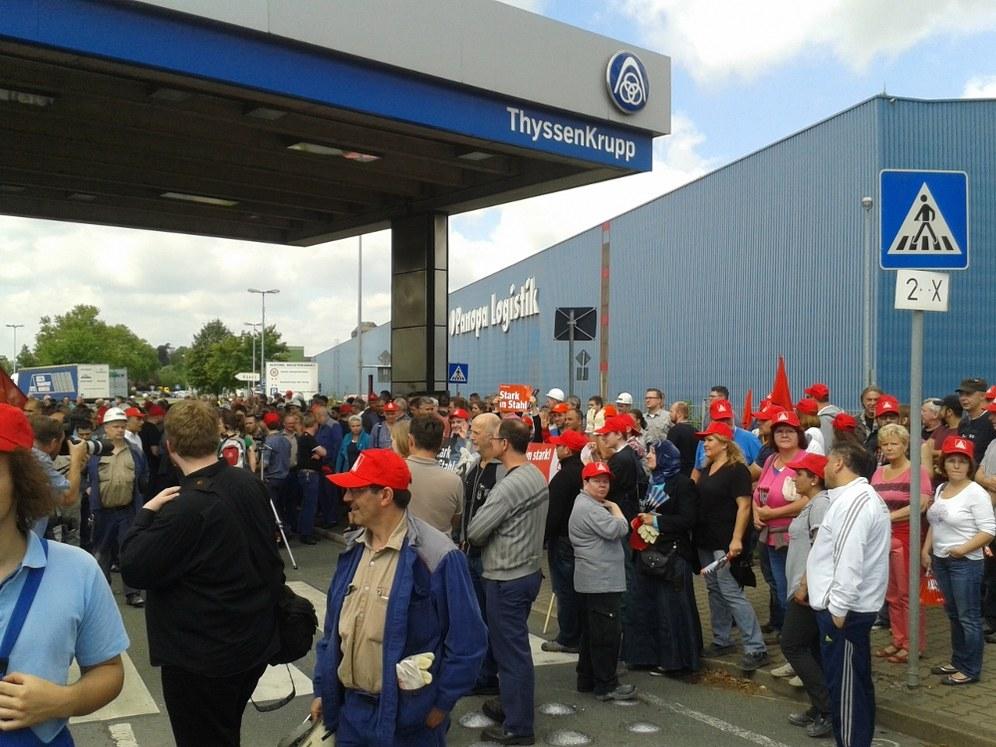 Tarifabschluss Stahl: Wer hatte Angst vor einem Streik?
