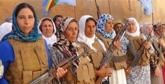 """Rojava: Mütter bilden eigenes Bataillon der """"Volksverteidigungseinheiten"""""""