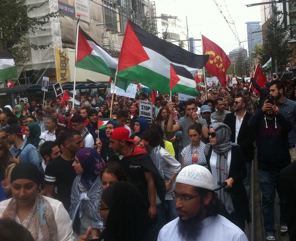 Zehntausende solidarisch mit Palästina