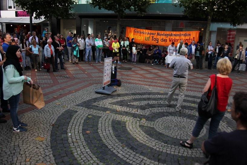 """Gelsenkirchener Montagsdemo: """"Solidarität mit dem palästinensischen Freiheitskampf"""""""