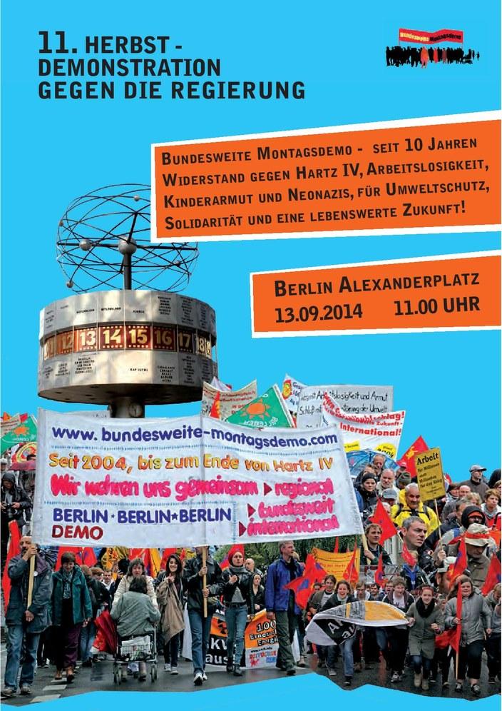 Zehn Jahre Montagsdemonstrationen - gute Gründe zum Widerstand und zum Feiern