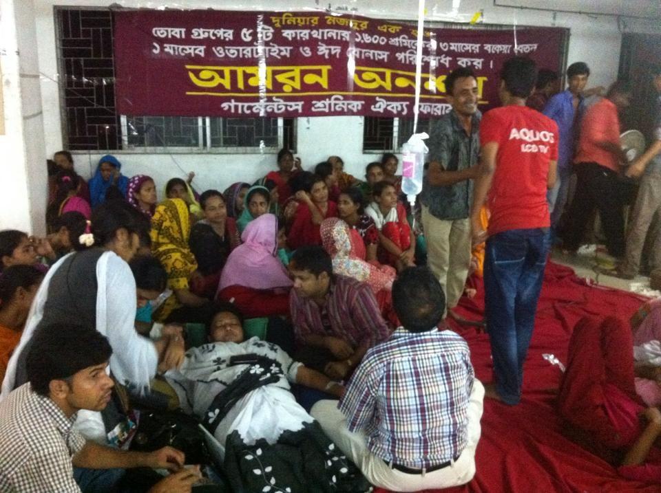 Bangladesch: Kapitalist will Haftentlassung erpressen