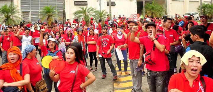 Solidaritätskampagne für die Arbeiter von NXP auf den Philippinen