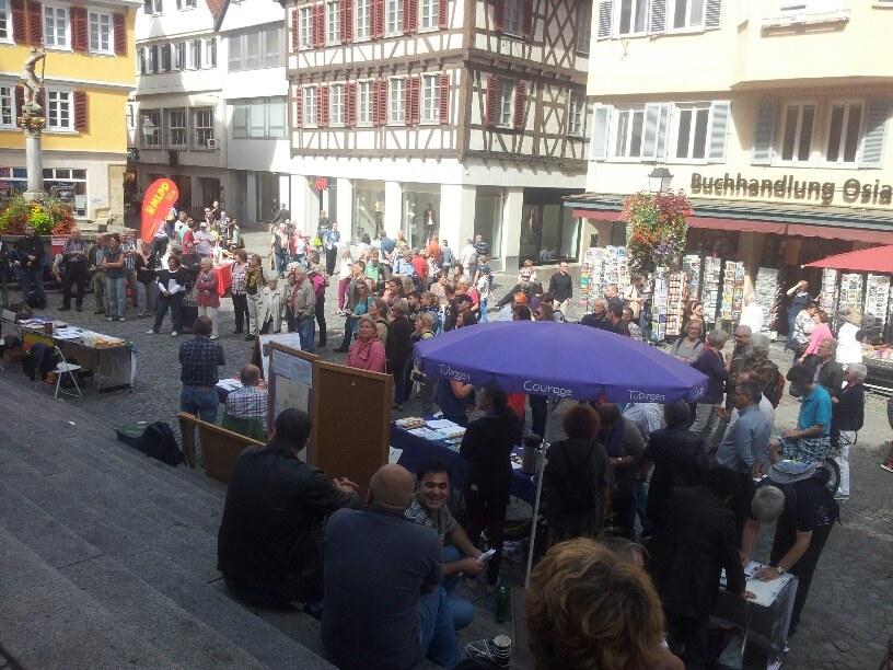 Tübingen: Zusammenarbeit im Friedenskampf über weltanschauliche Grenzen hinweg