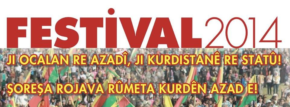 Kurdisches Kulturfestival am 13. September in Düsseldorf