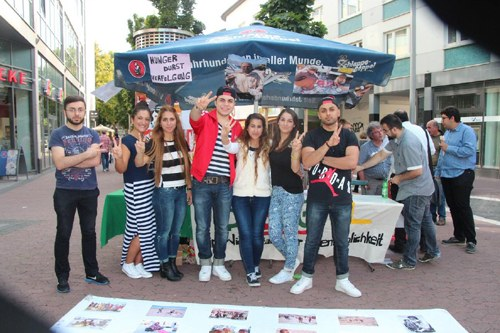 REBELL Wiesbaden solidarisch gegen Kriminalisierung kurdischer Studierender