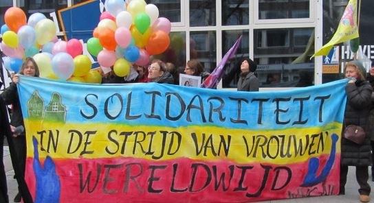 Solidaritätskonzert in Amsterdam für griechische Stahlarbeiter und Putzfrauen