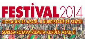 Zehntausende auf dem 22. Kurdistan-Festival in Düsseldorf