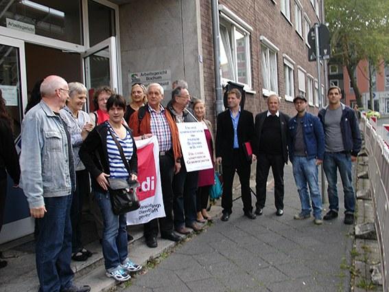 Arbeitsgerichtsverhandlung gegen Opel: 1:0 für Paul Fröhlich