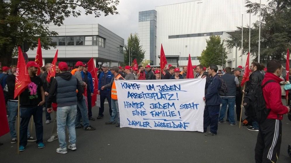 Bedeutender revierweiter Aktionstag im Kampf um die Arbeitsplätze